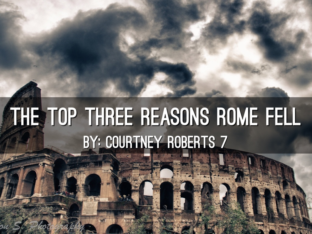 how did rome fall In suppose we could argue that it did not have to fall, but what did not fall could not be the same as rome was first, in terms of technology they had run into a.