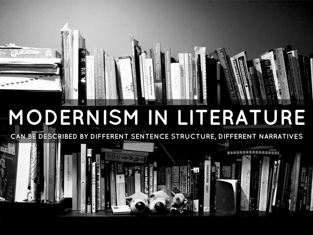 modernist writing Modernism was a hugely significant movement in art, literature, architecture, and music in the early twentieth century in this post, we've attempted to condense english-language modernist literature into eight key works of poetry and prose.