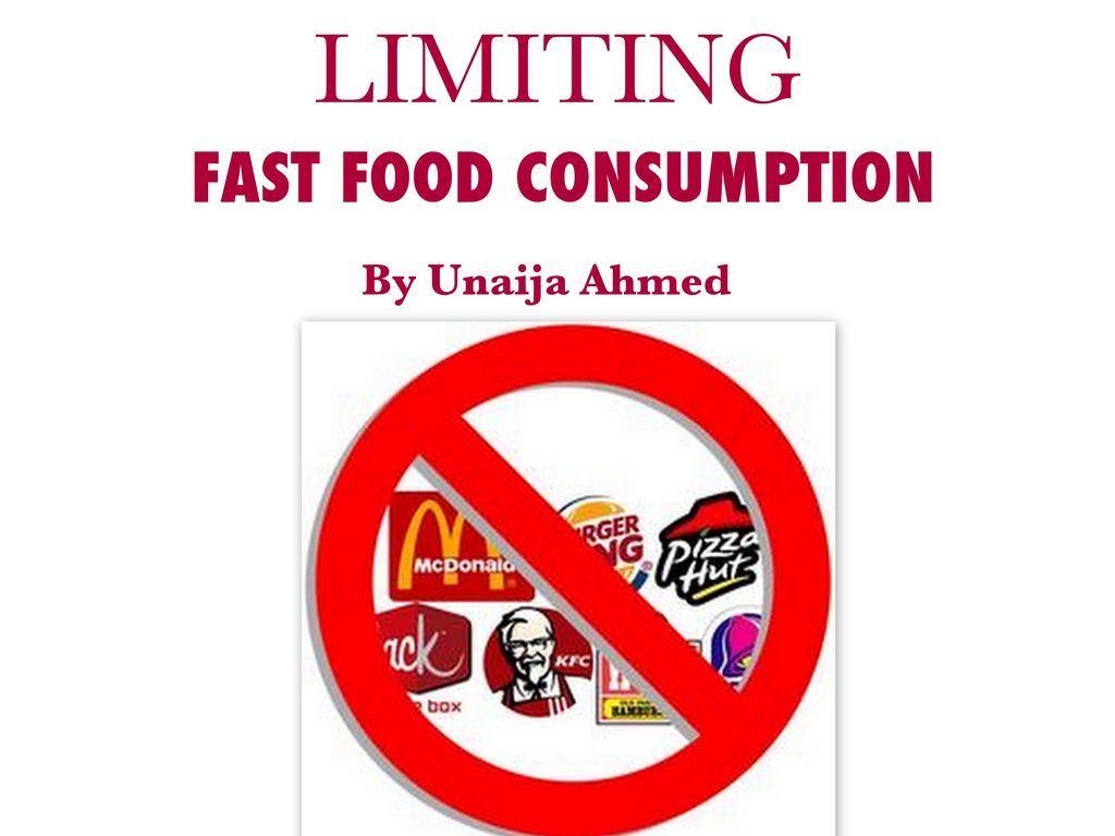 the impact of fast food consumption Neighborhood fast food availability related to an individual's fast food consumption date: july 12, 2011 source: jama and archives journals summary.