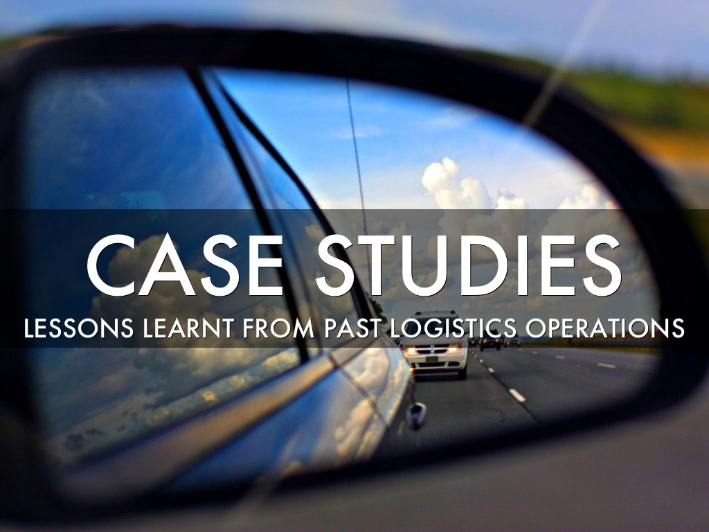 Logistics outsourcing lessons from case studies