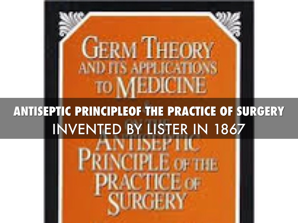 Medical Advances Between 1850-1900 by ungurcar000