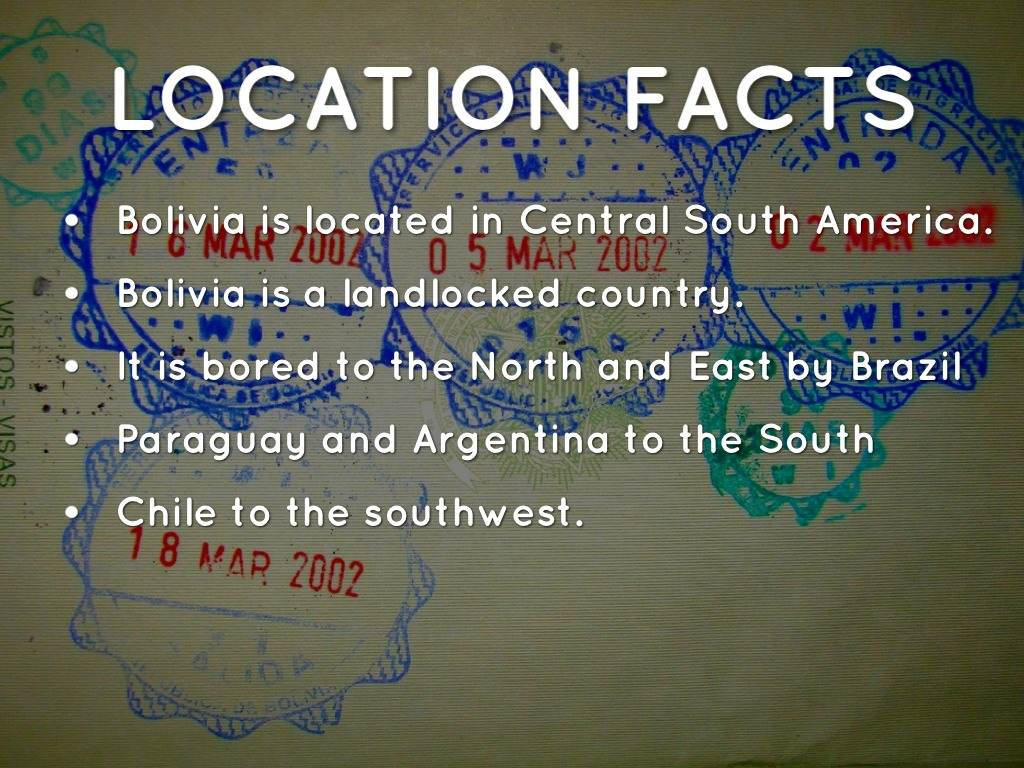 Bolivia south america by tristan woolstenhulme for Good facts about america