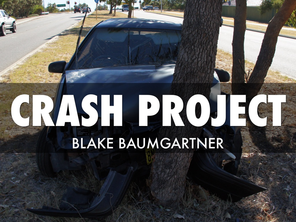 car accident for drivers ed project