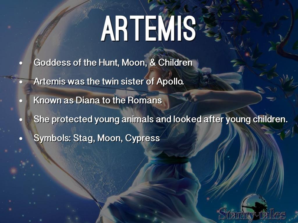 Artemis Goddess Wall