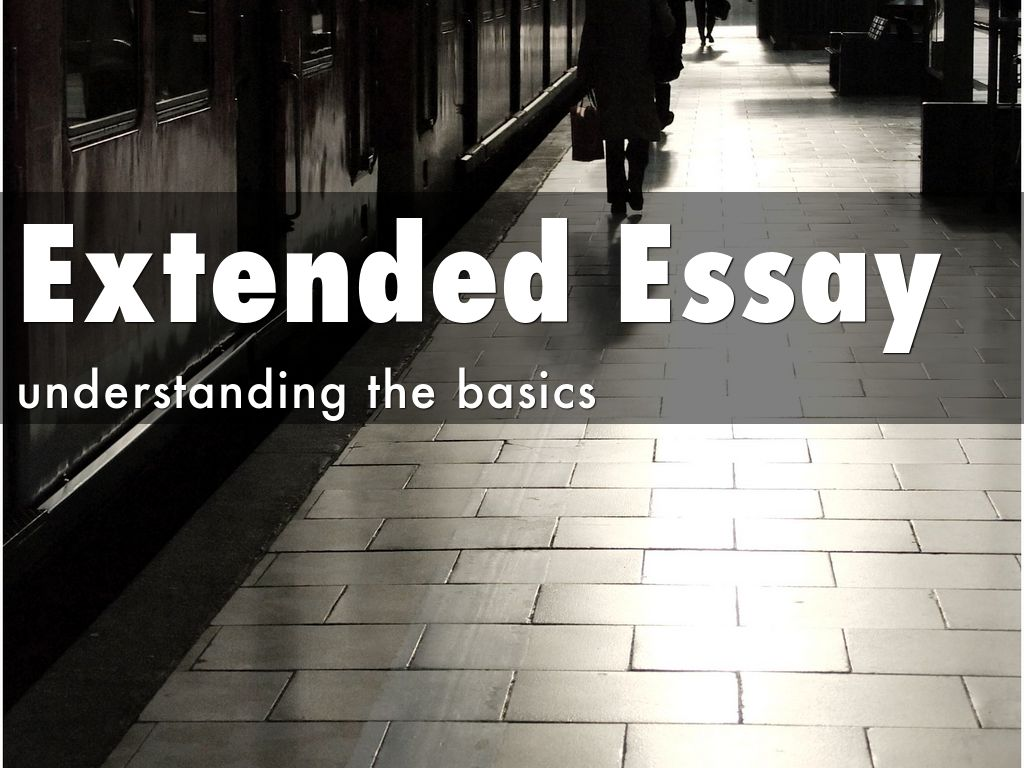 Scope of investigation extended essay