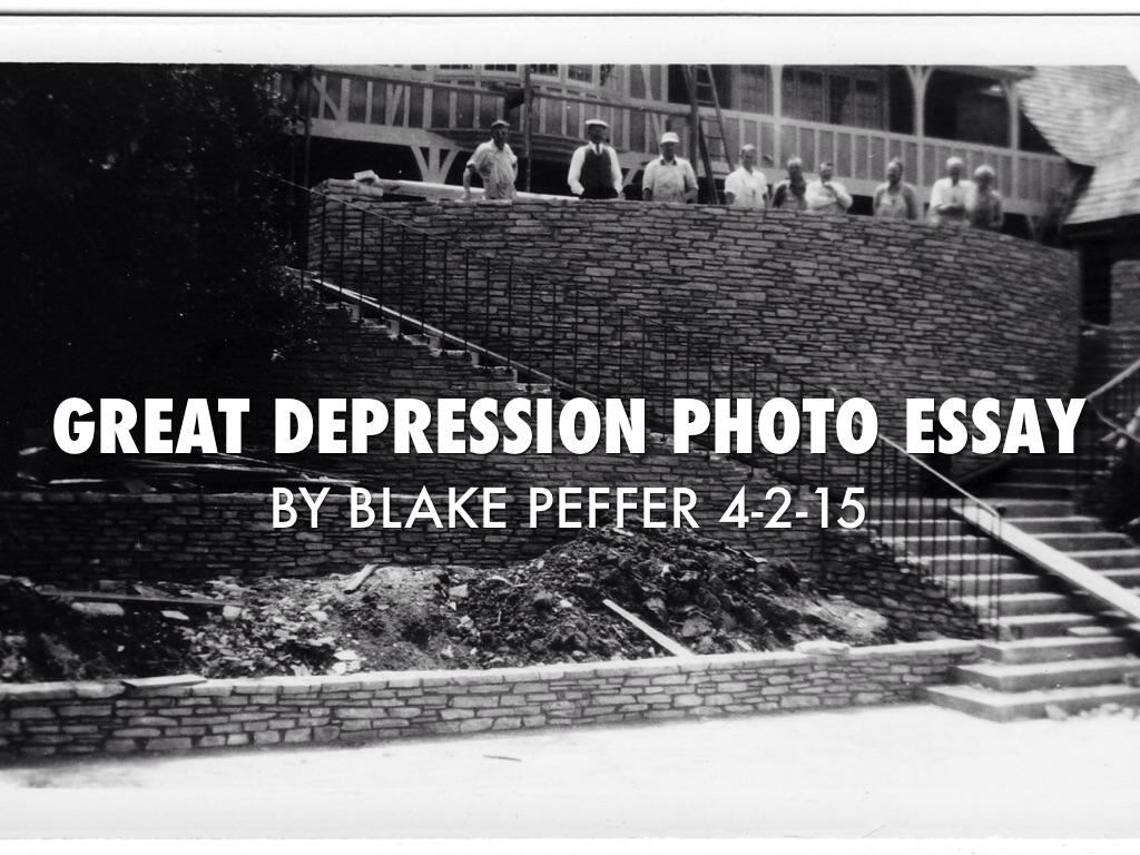 great depression photo essay by blake peffer by blake