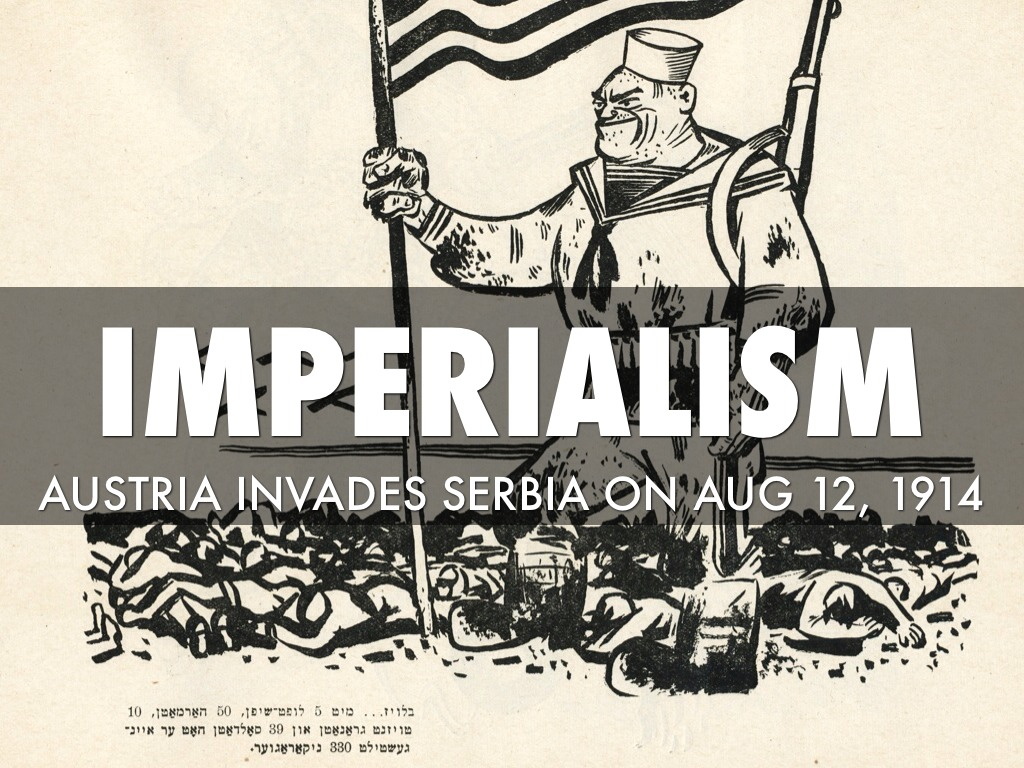 imperialism was the primary cause of There were several causes of imperialism that included manufacturedgoods, raw materials, civilization, and white man's burden.