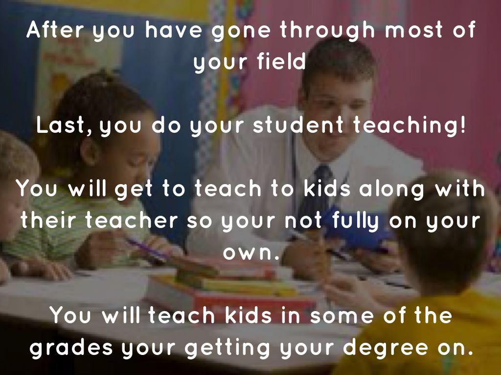 What To Do After You Get Your Teaching Degree