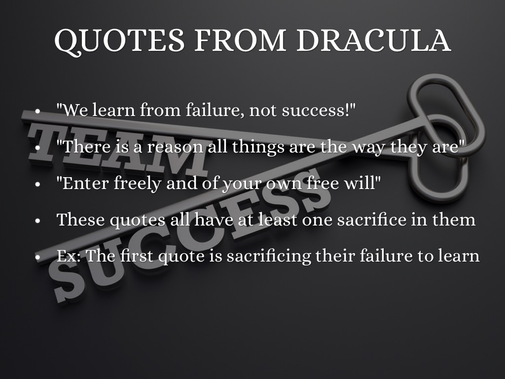 Sacrifice In Dracula By Max Gordinier