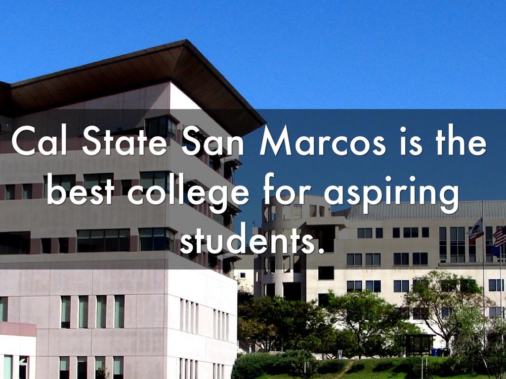 San Marcos College >> College By Ivan Martinez