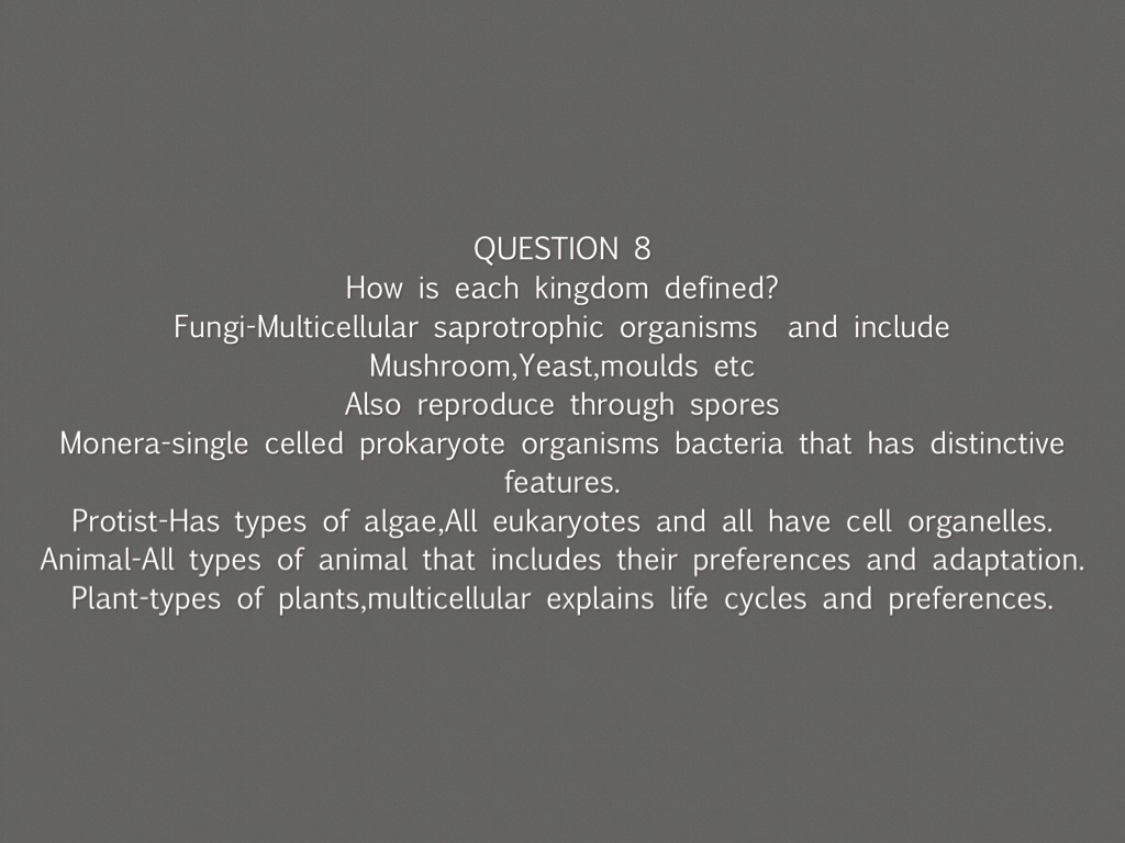 Plum Science Kingdoms By Lane Cells In The Monera Kingdom Example Bacteria Are Prokaryotes Did Single Celled Prokaryote Organisms That Has Distinctive Features Protist Types