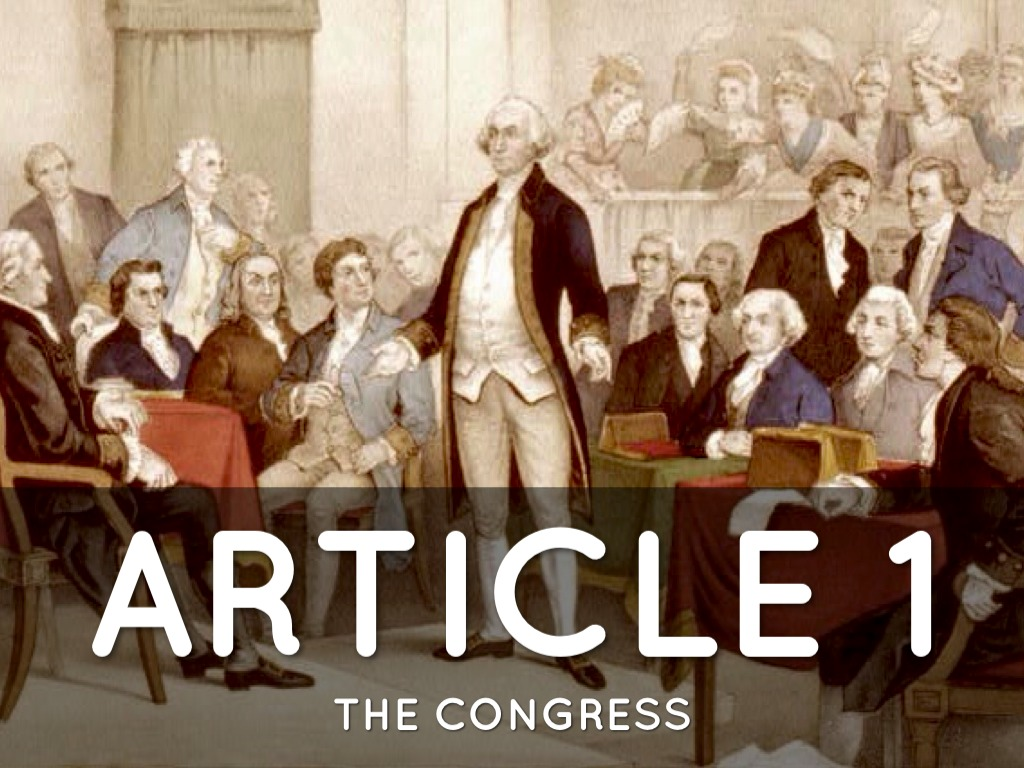 Constitution Articles 1 3 Amp Amendment 1 By Taylor