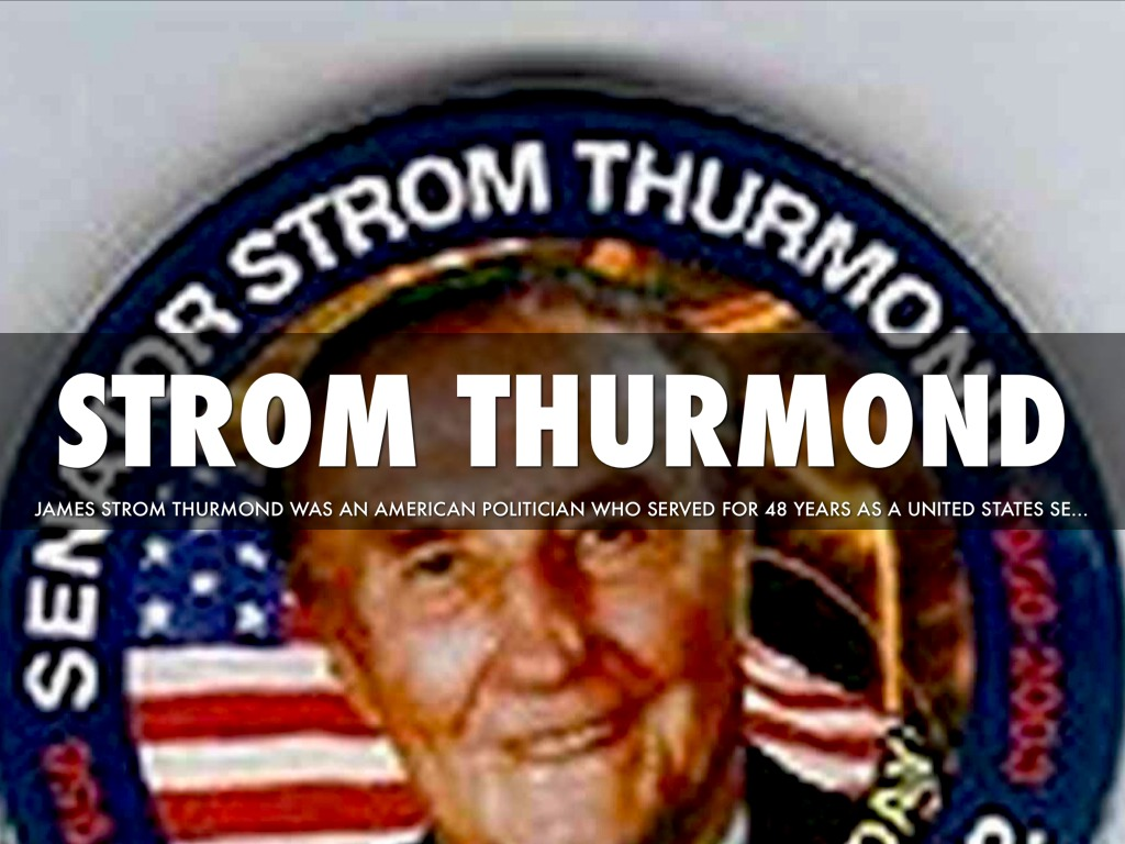 a biography of strom thurmond the politician