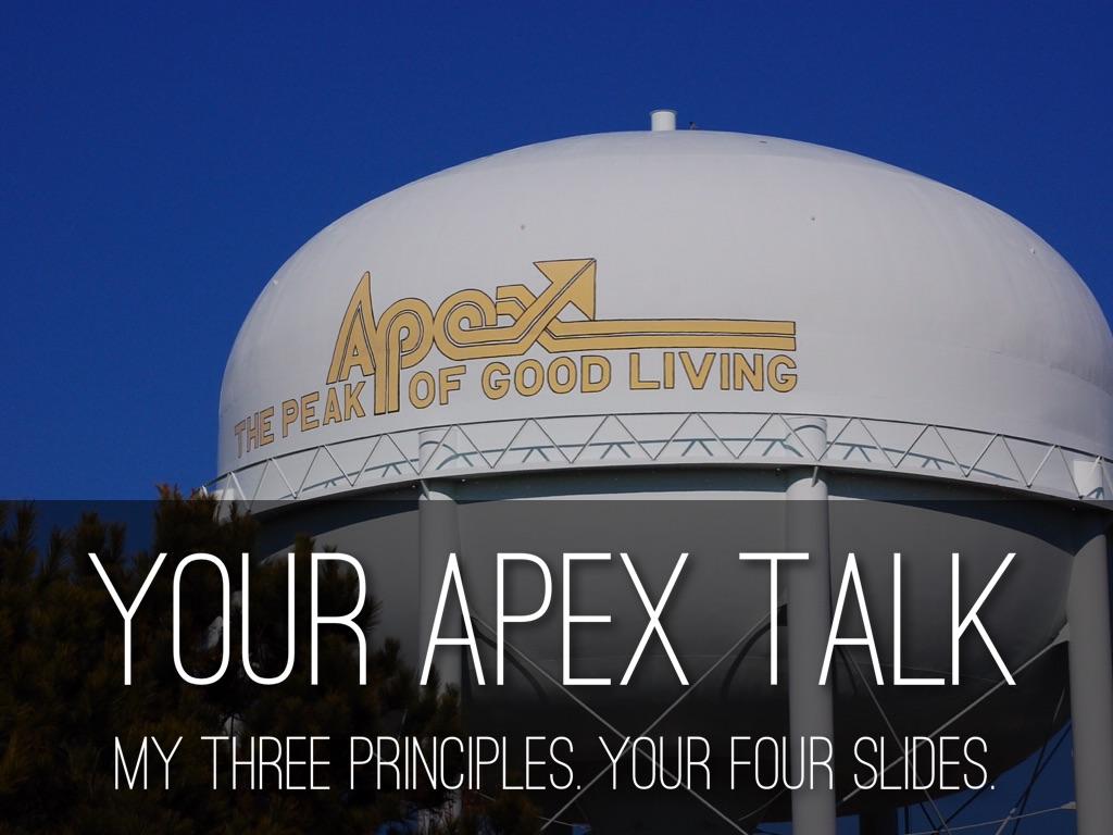 Your APEX Talk