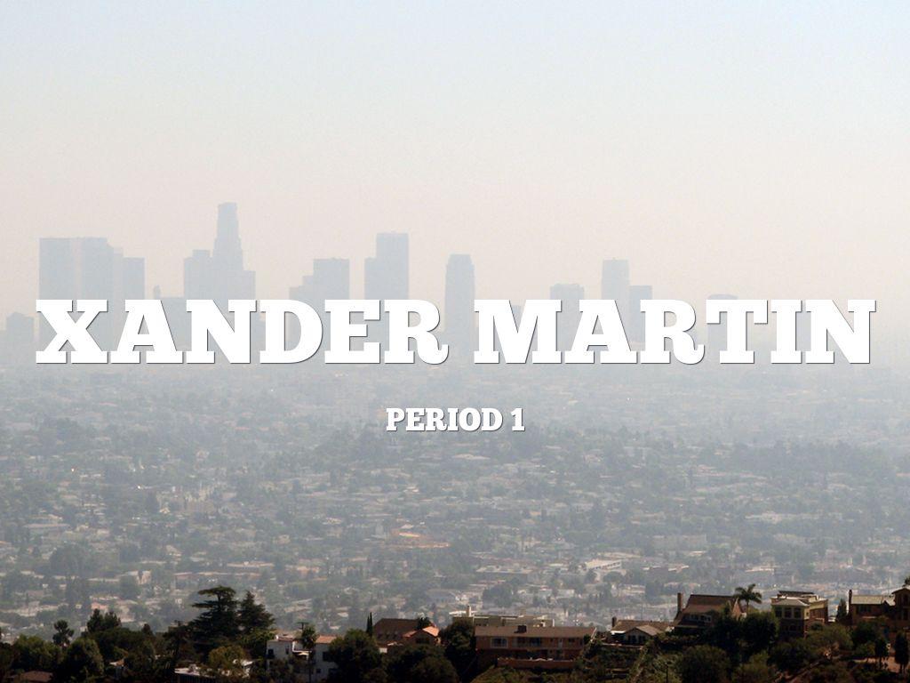 Xander Martin