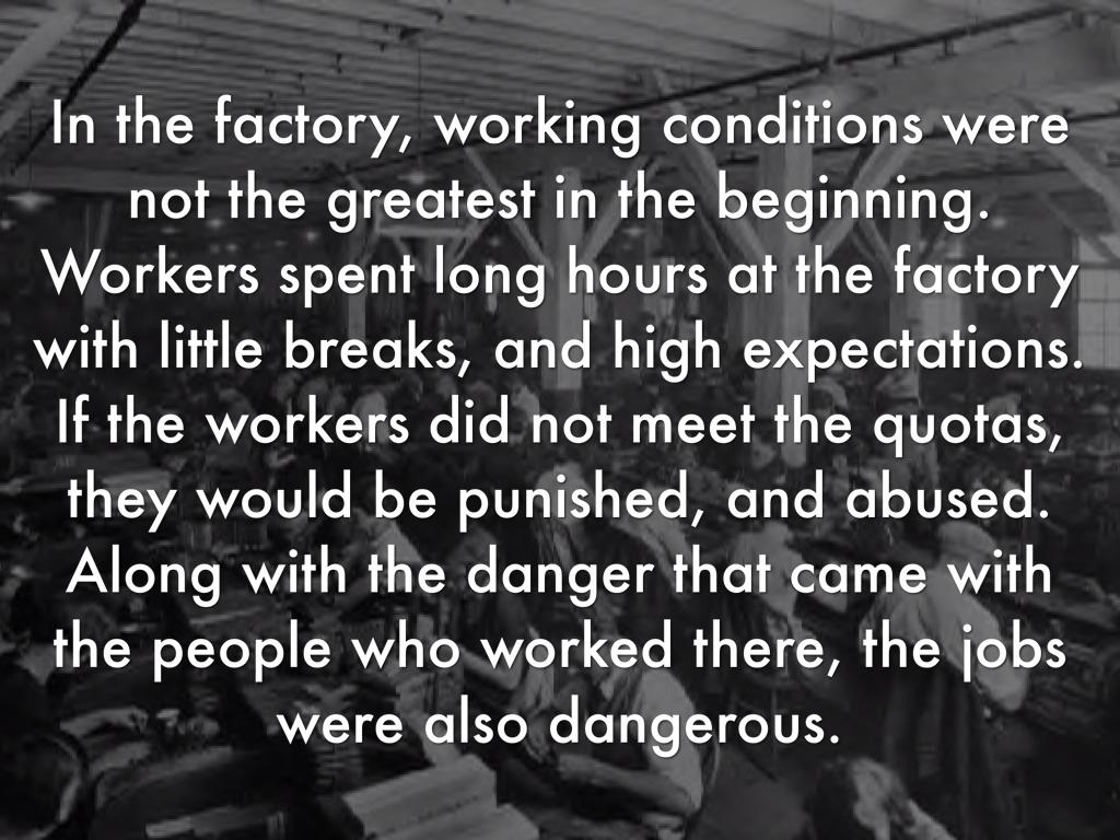 Dangerous Factory Workers Industrial Revolution