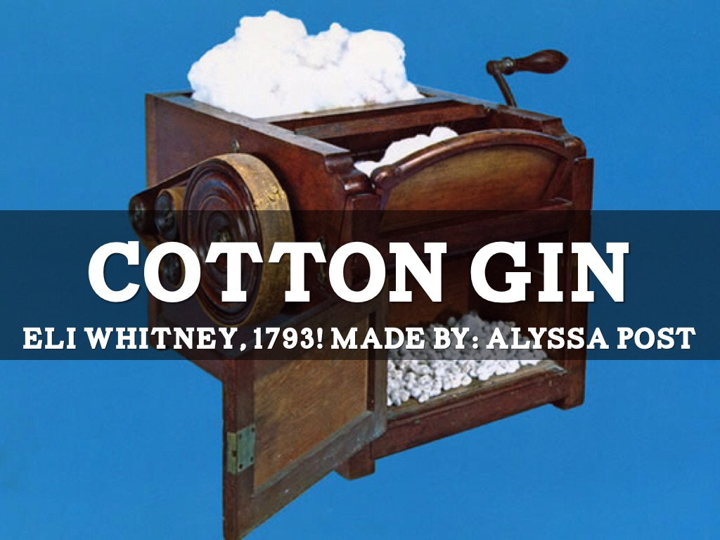 cotton gin How can the answer be improved.