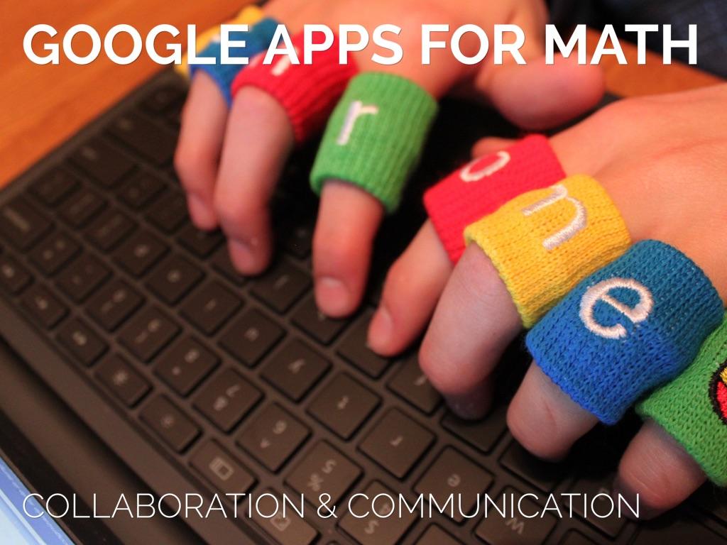 Copia de Google Apps and Math