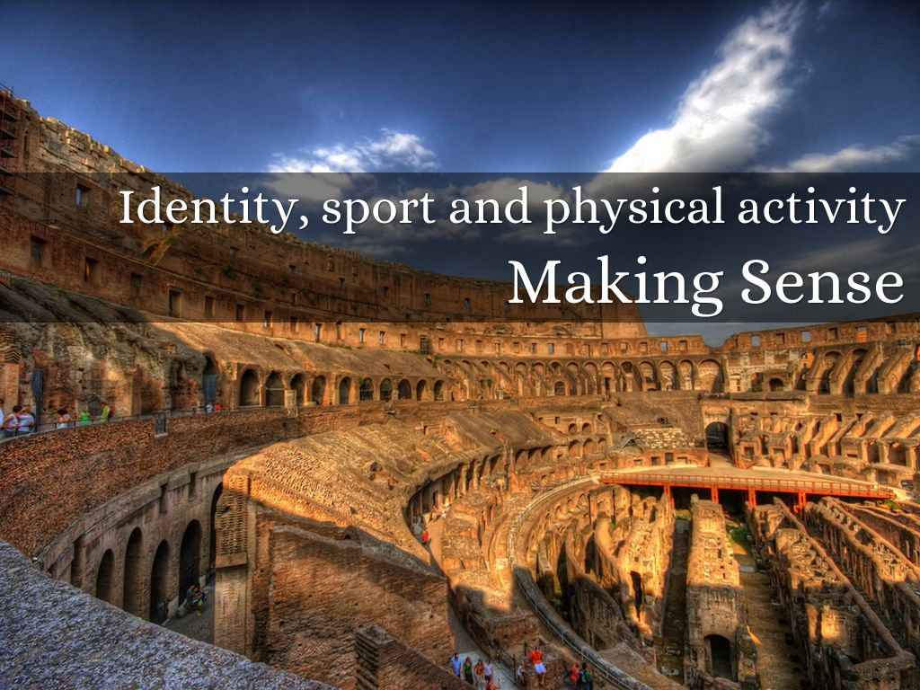 Copy of Identity, sport and physical activity