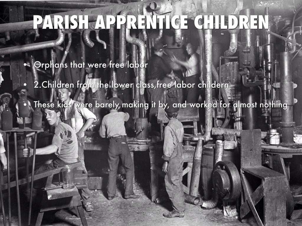 child labor during the industrial revolution Child labor was extremely common during the industrial revolution as the children's small body sizes made them able to reach the corners of large factory machines that adults could not it is speculated that children as young as four years old were employed by industrial-era factories children .