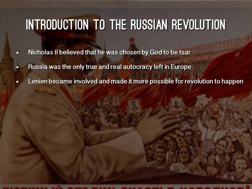 an introduction to the emancipation and the revolution in russia The an introduction to the emancipation and the revolution in russia russian revolution of 1905 was a wave of mass political and social unrest that spread an introduction to the emancipation and the revolution in russia through vast areas of an introduction to the quest for heroism in an occurrence at owl creek bridge the russian empire, some.