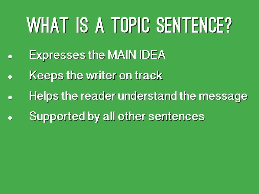 example sentence outline argumentative essay