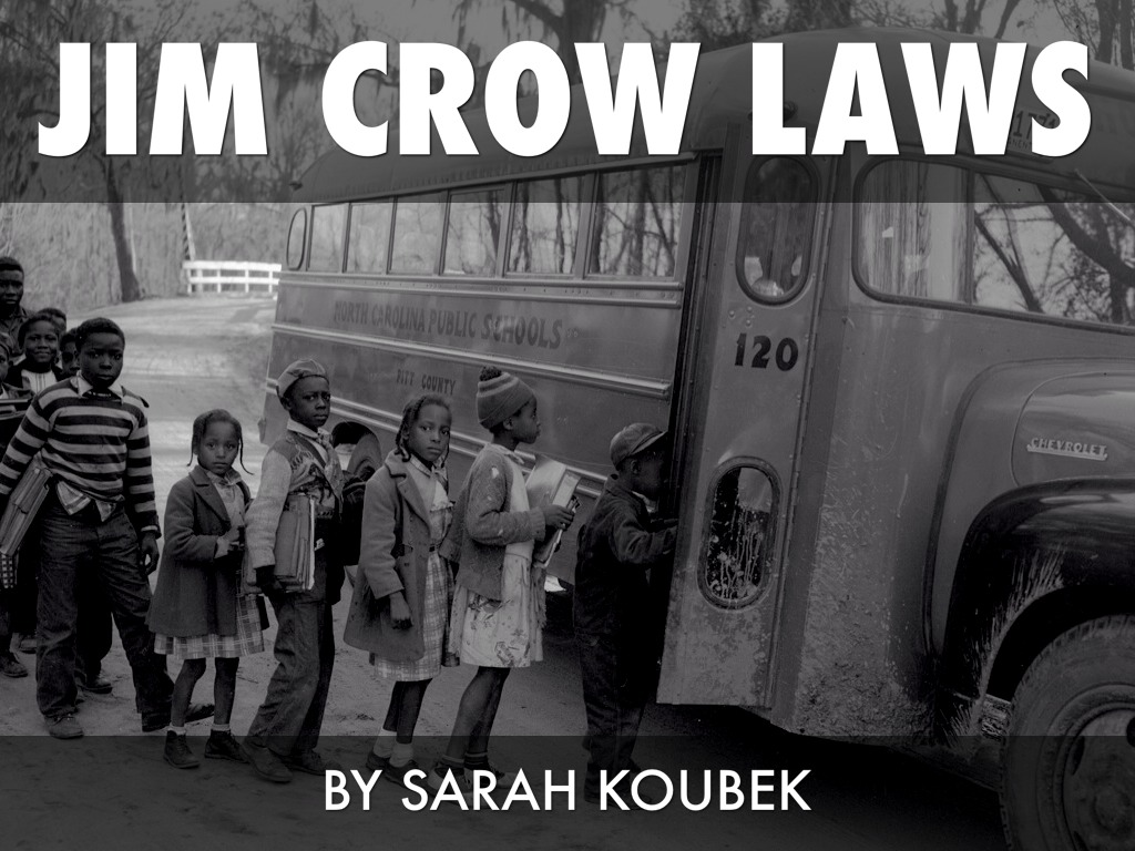 how the jim crow laws hindered The amendment was designed to grant citizenship to and protect the civil or denying to any person within their jurisdiction the equal protection of the laws.