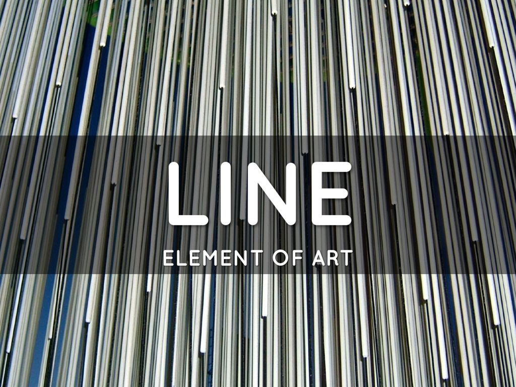 Line Element : Element of art line by margo thornbury