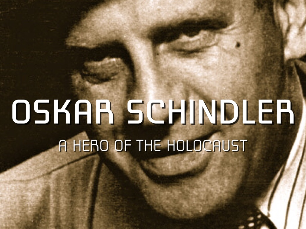 oskar schindler essay History other essays: why did oskar schindler do it.