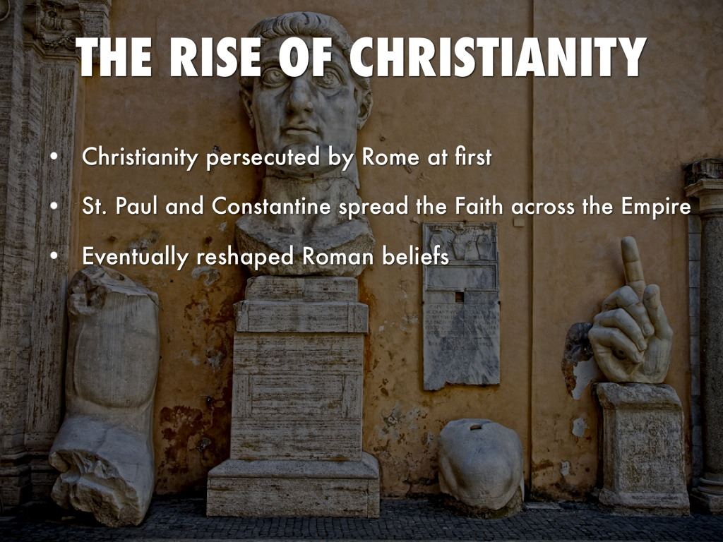 rise of christianity The rise of christianity author: peter casey created date: 11/6/2014 11:16:01 pm.