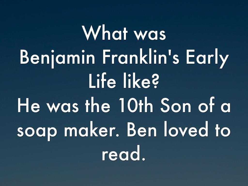Benjamin Franklin By Alston Griffin