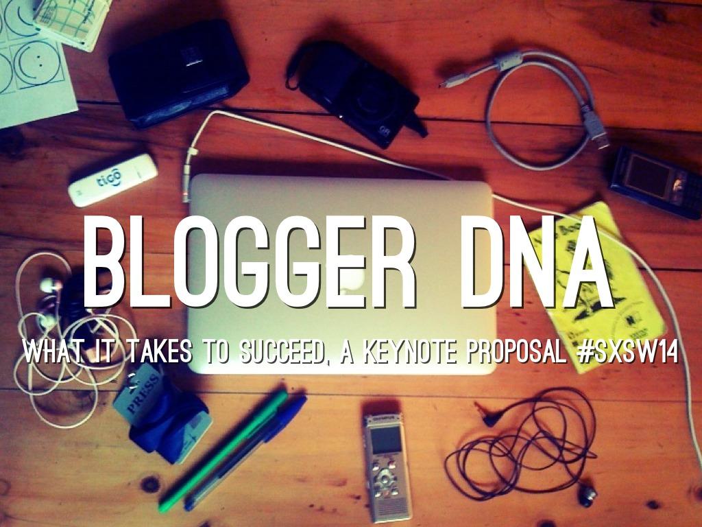 Blogger DNA