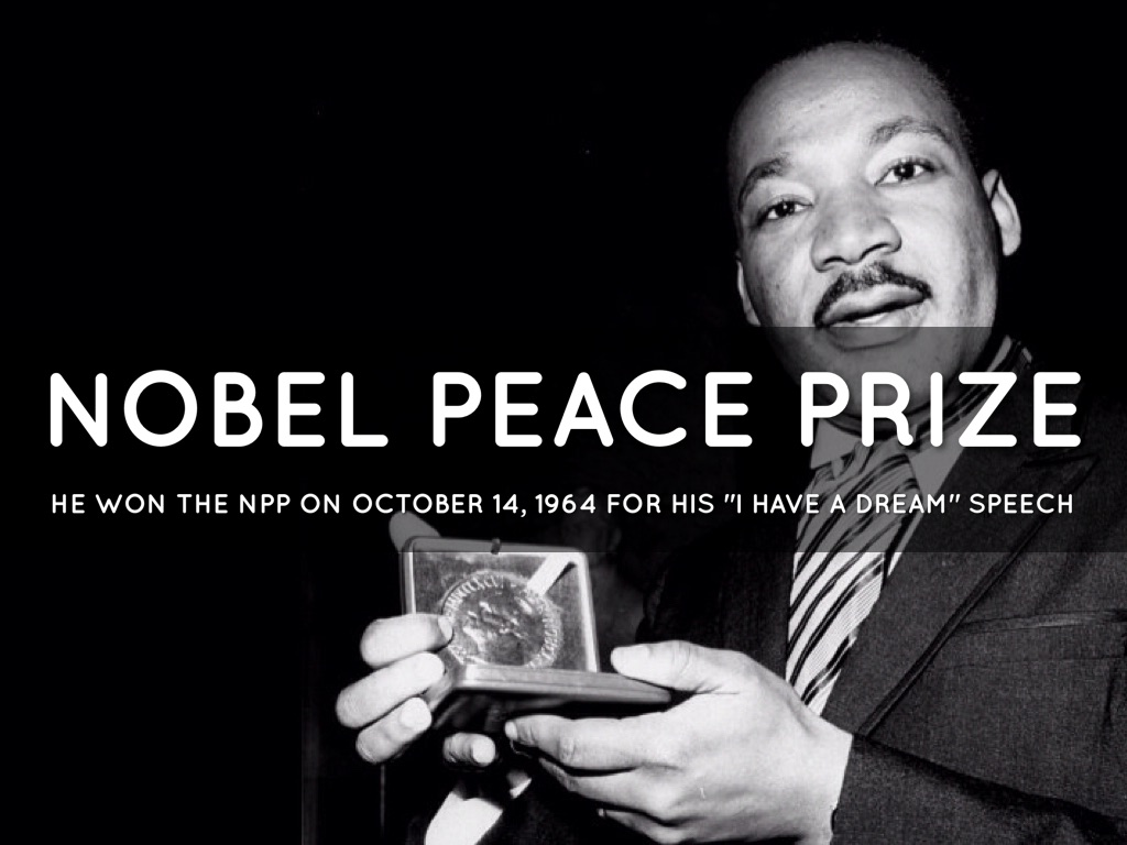 mlk nobel peace prize speech analysis Below is obama's nobel peace prize acceptance speech, a just and lasting peace, as prepared for delivery scroll to the bottom for video      your majesties, your royal highnesses, distinguished members of the norwegian nobel committee, citizens of america, and citizens of the world.