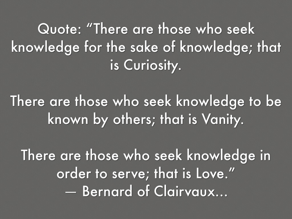 St Bernard Of Clairvaux Quotes: St. Bernard Of Clairvaux By Makayla Leonard