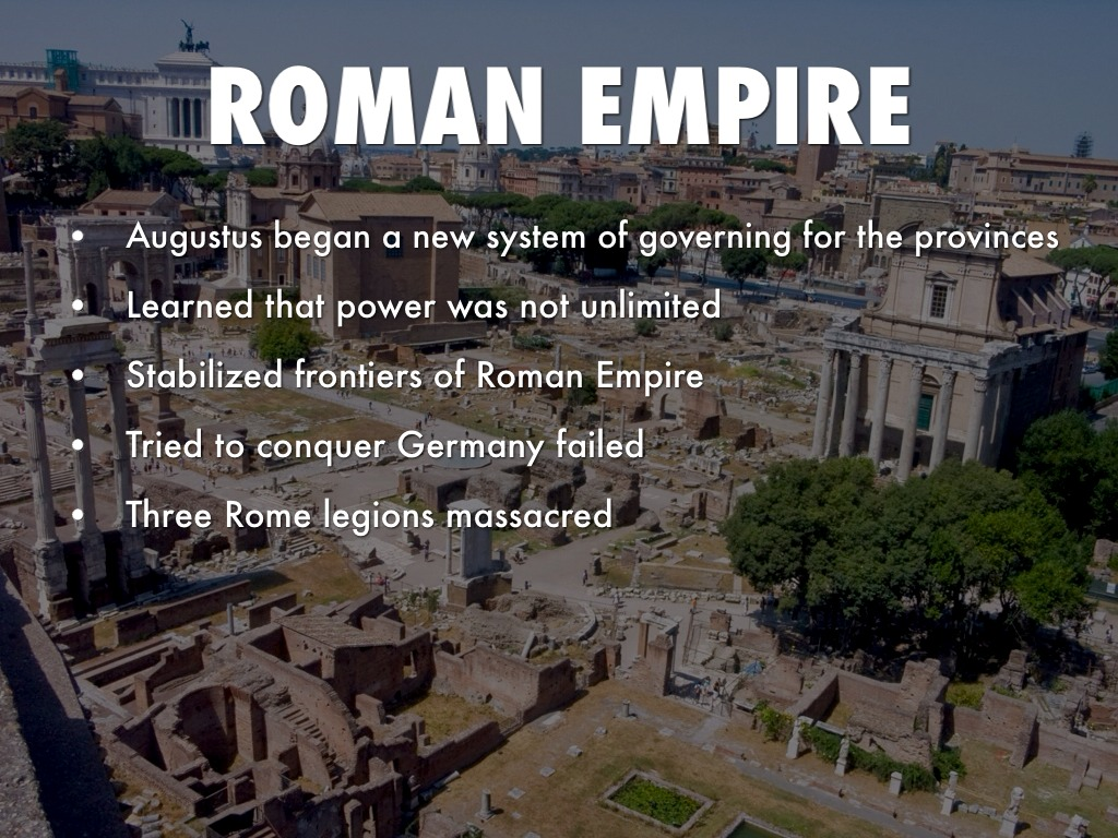 start with any roman empire