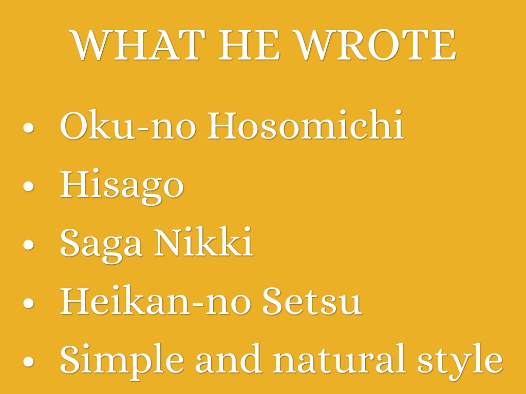 oku no hosomichi and tosa nikki essay Key differences in tosa nikki and oku no hosomichi essay how to write an discussion fun critical thinking activities for high school students sitemap.