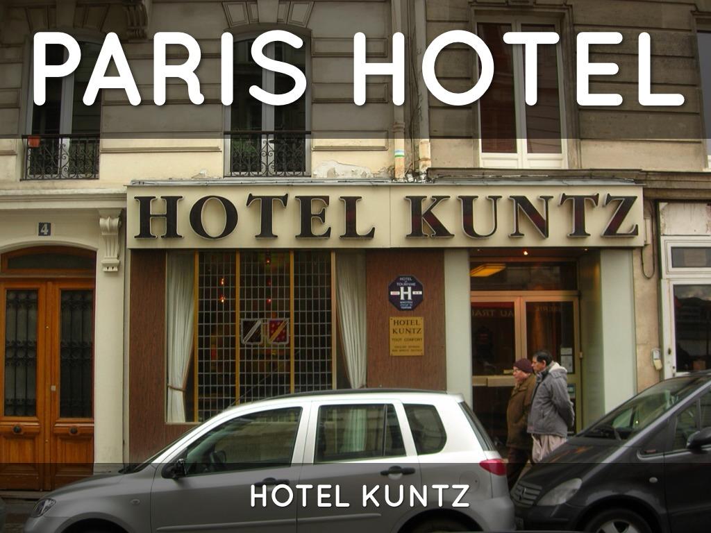 Hotel Kunz haiku deck in by whitneysmith