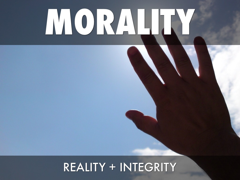 morality vs reality Legal vs moral what do you say when morality is reduced to law that's why the appeal to the fact that it is legal is considered adequate to silence the opposition.