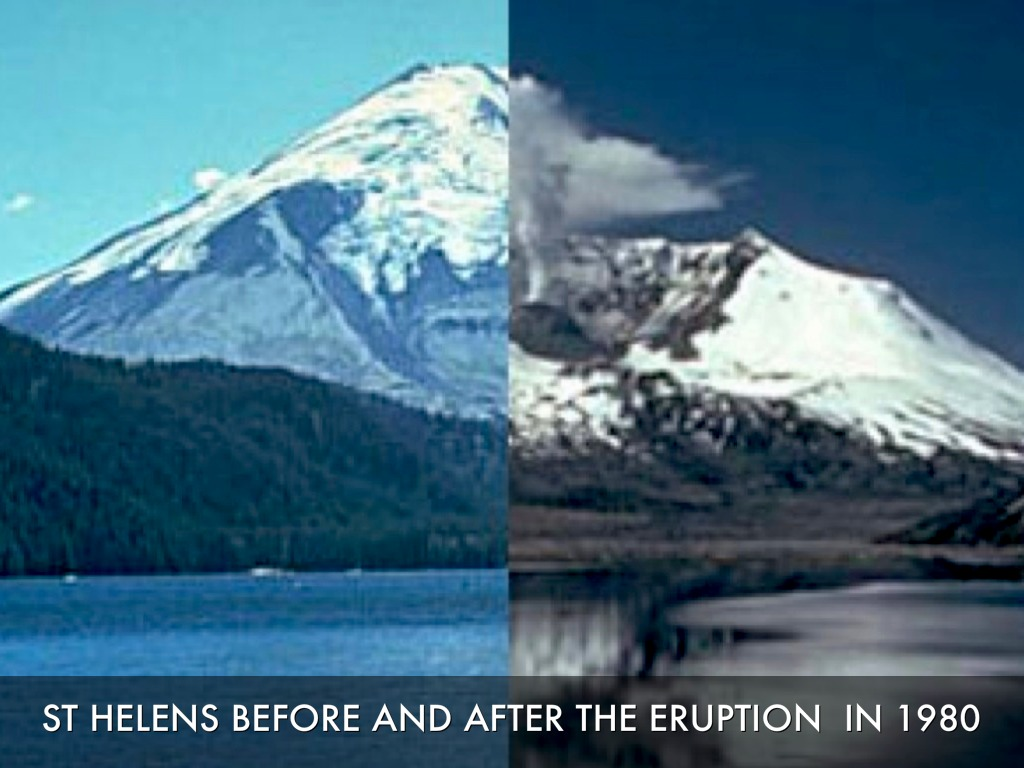 comparing and contrasting mount st helen and mount pinatubo volcanic eruptions