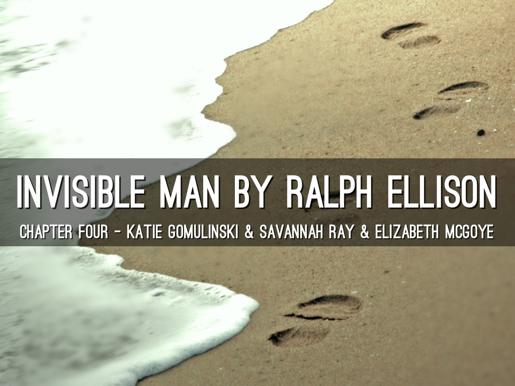 the invisible man by ralph ellison pdf