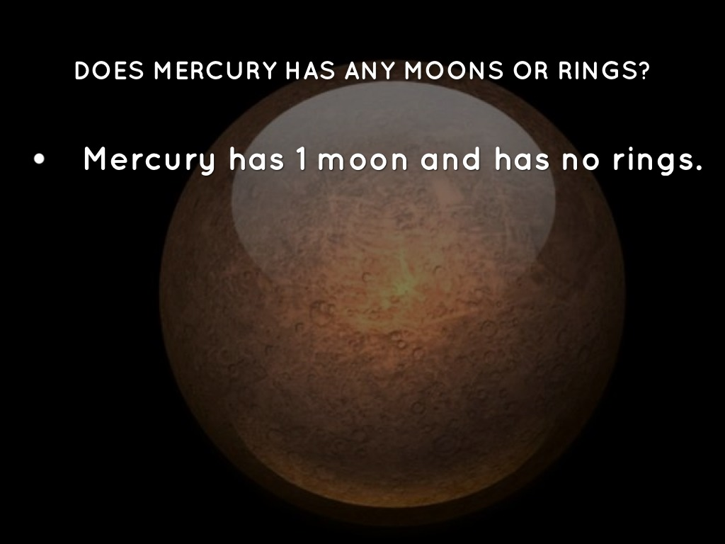 what are the moons of mercury - photo #38