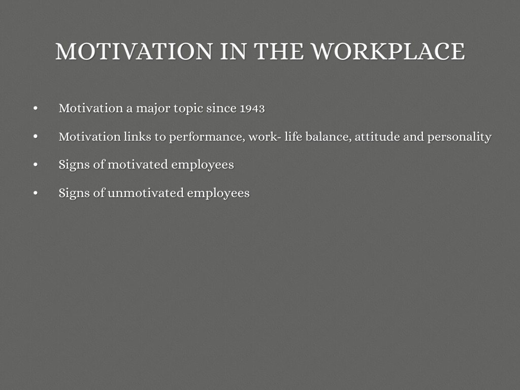 employee motivation a malaysian perspective 3 View notes - 2_article from econ 102 at gannon international journal of commerce and management employee motivation: a malaysian perspective rafikul islam ahmad zaki hj.