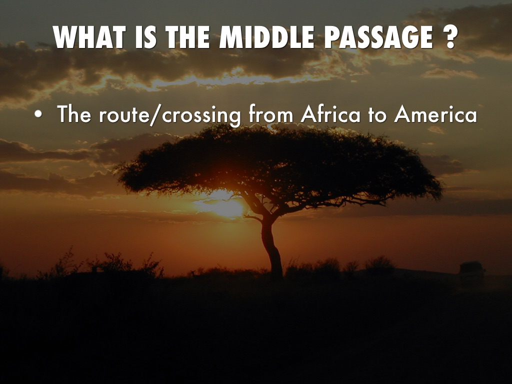 The Middle Passage by Tyler Eastwood