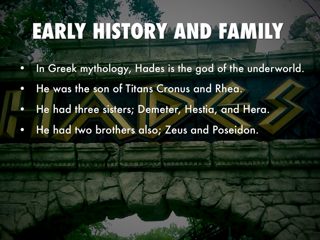hades the god of the underworld Hades: god of the underworld (gods and goddesses of ancient greece) [teri temple] on amazoncom free shipping on qualifying offers introduces the greek god hades and explains his importance features well-known greek myths about this god and includes map of ancient greece and family tree of the greek gods.
