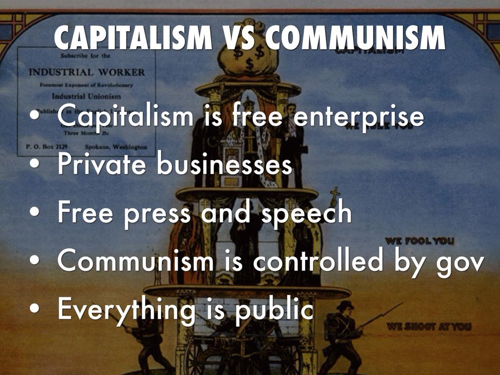 communism capitalism and freedom