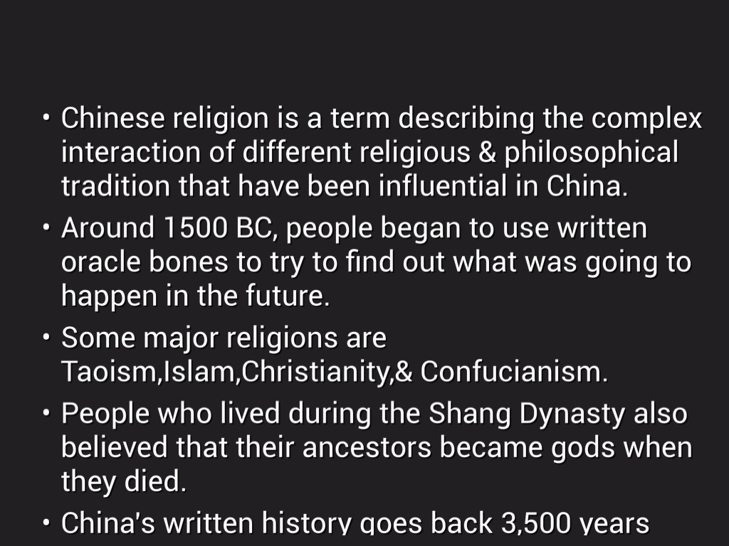 Copy Of Copy Of Copy Of Ancient China Project By D J - 7 major religions