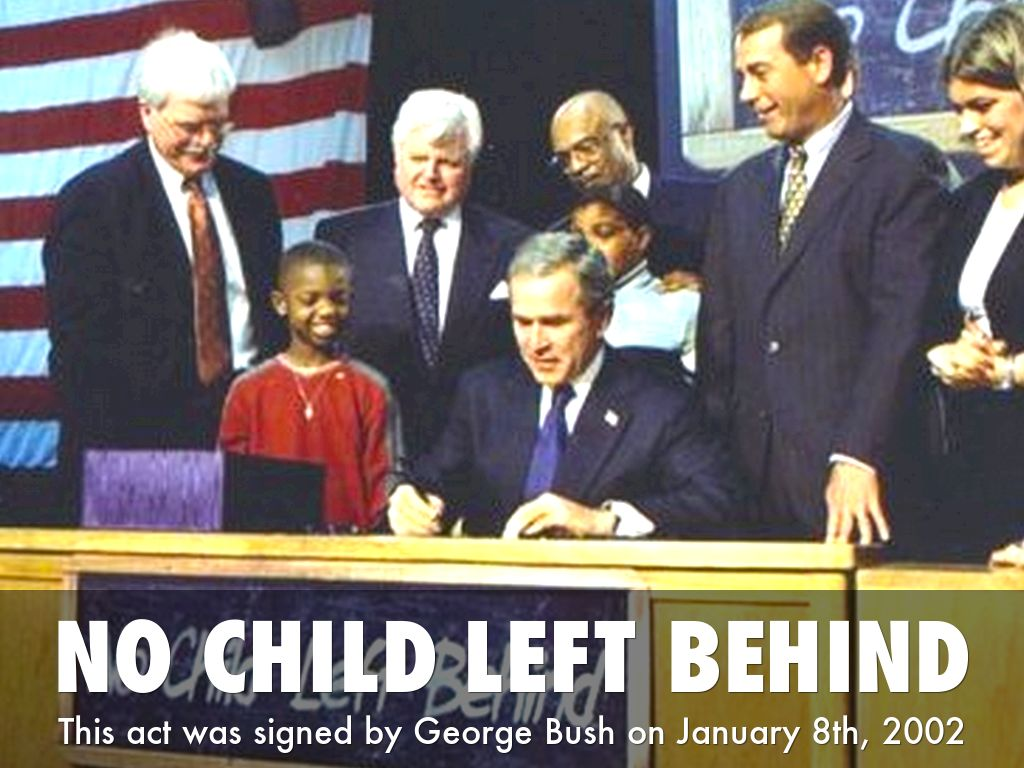 no child left behind act is