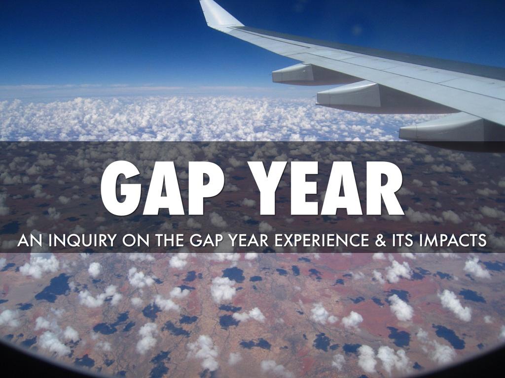 Gap Year By Ducki Zheng
