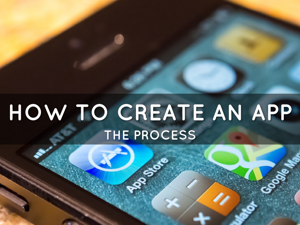 How To Create An App By Ryan Done