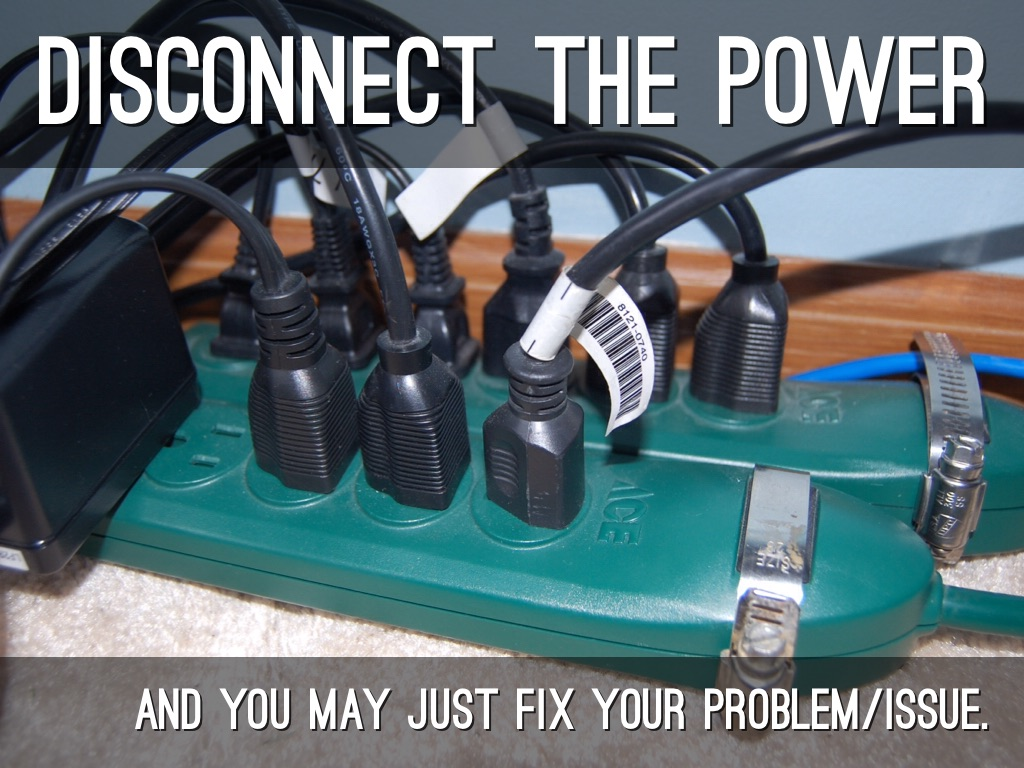 Troubleshooting: The Power Of No Power
